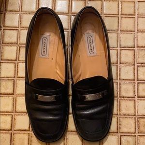 COACH GENUINE LEATHER LOAFERS SIZE 10B